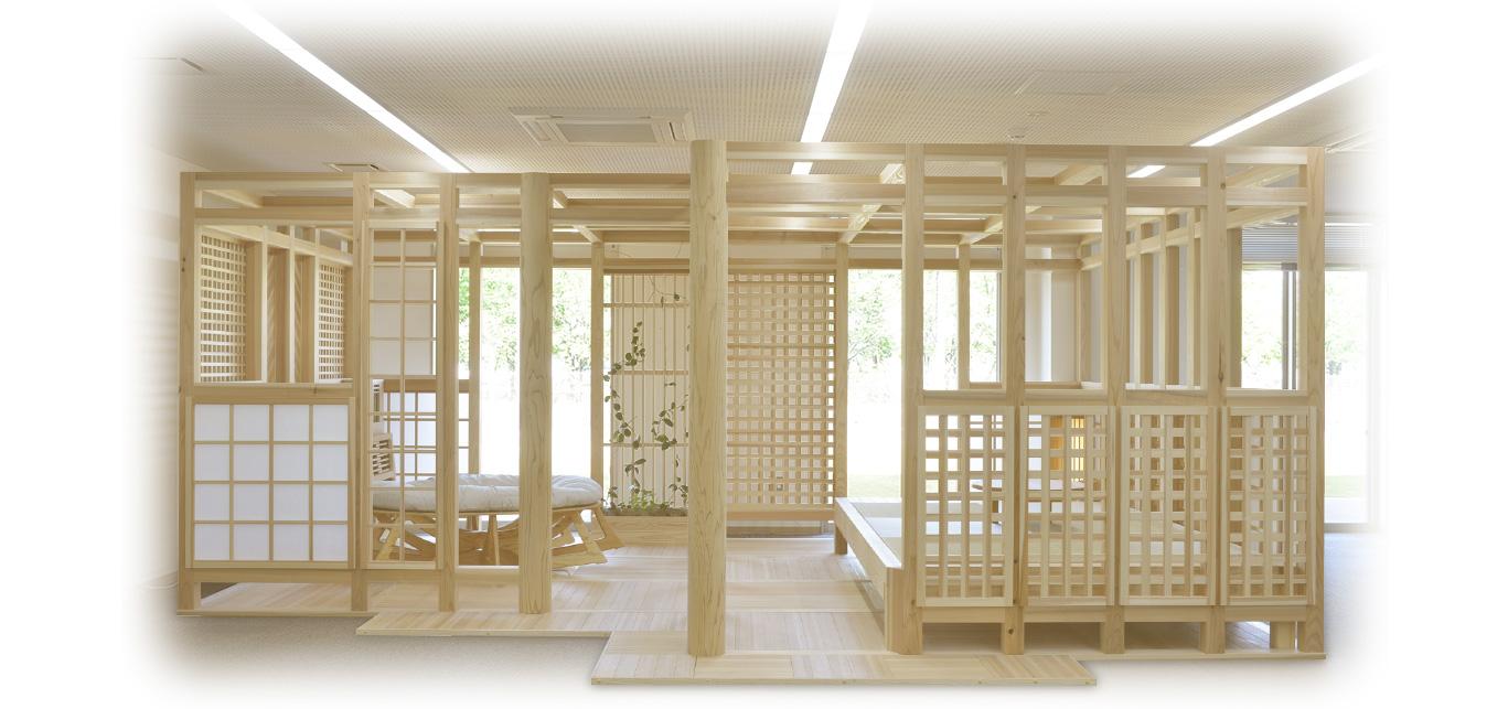 自然とつながる新たな空間『五感の森(R)~chizu~』
